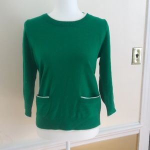 Boden green sweater
